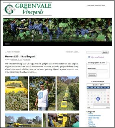 Greenvale Vineyards Blog